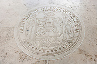 Great Seal of the State of Wisconsin in Fort Bonifacio; Manila; Philippines