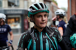 Leah Thomas (USA) after Boels Ladies Tour 2019 - Stage 2, a 113.7 km road race starting and finishing in Gennep, Netherlands on September 5, 2019. Photo by Sean Robinson/velofocus.com