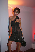Jasmine Lennard. Glamour Women Of The Year Awards 2005, Berkeley Square, London.  June 7 2005. ONE TIME USE ONLY - DO NOT ARCHIVE  © Copyright Photograph by Dafydd Jones 66 Stockwell Park Rd. London SW9 0DA Tel 020 7733 0108 www.dafjones.com