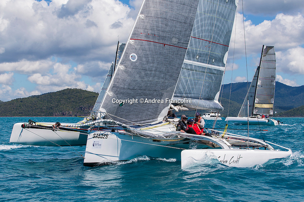 SAILING - Airlie Beach Race Week 2016<br /> 13/8/2016<br /> Airlie Beach, Queensland<br /> ph. Andrea Francolini<br /> CARBON CREDIT
