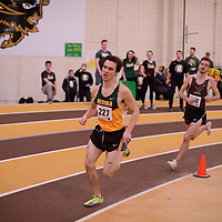 Quinn Legare in action during the 2018 Canada West Track & Field Championship on February  23 at James Daly Fieldhouse. Credit: Arthur Ward/Arthur Images