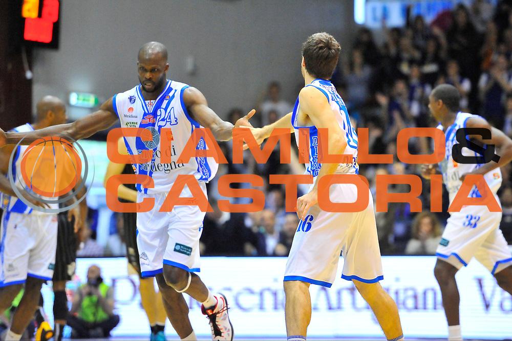 DESCRIZIONE : Campionato 2013/14 Dinamo Banco di Sardegna Sassari - Pasta Reggia Caserta<br /> GIOCATORE : Benjamin Eze<br /> CATEGORIA : Ritratto Esultanza Fair Play<br /> SQUADRA : Dinamo Banco di Sardegna Sassari<br /> EVENTO : LegaBasket Serie A Beko 2013/2014<br /> GARA : Dinamo Banco di Sardegna Sassari - Pasta Reggia Caserta<br /> DATA : 27/04/2014<br /> SPORT : Pallacanestro <br /> AUTORE : Agenzia Ciamillo-Castoria / Luigi Canu<br /> Galleria : LegaBasket Serie A Beko 2013/2014<br /> Fotonotizia : Campionato 2013/14 Dinamo Banco di Sardegna Sassari - Pasta Reggia Caserta<br /> Predefinita :