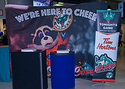 KELOWNA, CANADA - JANUARY 10:  Promotions at the Kelowna Rockets game on January 10, 2018 at Prospera Place in Kelowna, British Columbia, Canada.  (Photo By Cindy Rogers/Nyasa Photography,  *** Local Caption ***