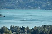 Aiguebelette, FRANCE, <br /> 2015 FISA World Rowing Championships, <br /> Venue, Lake Aiguebelette - Savoie. <br /> Thursday  27/08/2015  [Mandatory Credit. Peter SPURRIER/Intersport Images].