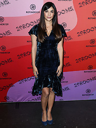December 4, 2018 - Los Angeles, California, United States - LOS ANGELES, CA, USA - DECEMBER 04: Actress Hannah Simone arrives at the Refinery29 29Rooms Los Angeles 2018: Expand Your Reality Opening Party held at The Reef A Creative Habitat on December 4, 2018 in Los Angeles, California, United States. (Credit Image: © face to face via ZUMA Press)