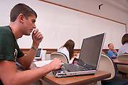 18909College of Business: Classroom Shots..Dr. Dawn Deeter's class...Tim Gesing, Jake Phillips