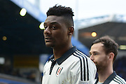 Fulham Goalscorer and midfielder Rohan Ince during the Sky Bet Championship match between Birmingham City and Fulham at St Andrews, Birmingham, England on 19 March 2016. Photo by Alan Franklin.