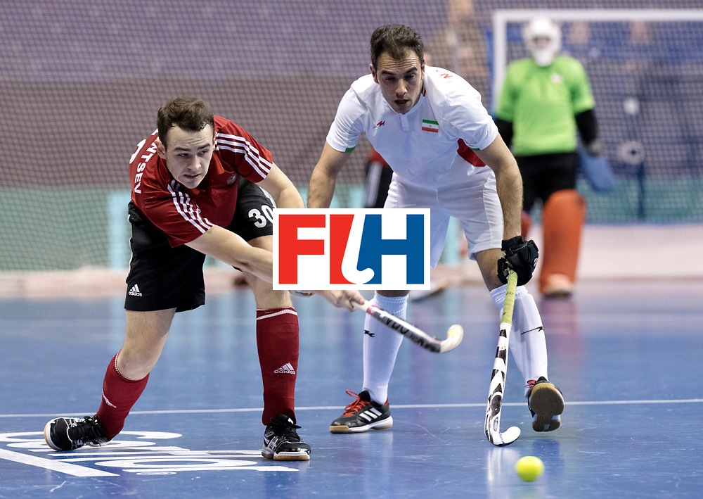 BERLIN - Indoor Hockey World Cup<br /> Men: Iran - Russia<br /> foto: AGAFONTSEV Aleksandr.<br /> WORLDSPORTPICS COPYRIGHT FRANK UIJLENBROEK