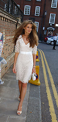 JEMIMA KHAN at Sir David & Lady Carina Frost's annual summer party held in Carlyle Square, London on 6th July 2004.
