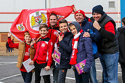 Bristol City fans gather outside Madejski Stadium - Mandatory by-line: Jason Brown/JMP - 26/11/2016 - FOOTBALL - Madejski Stadium - Reading, England - Reading v Bristol City - Sky Bet Championship