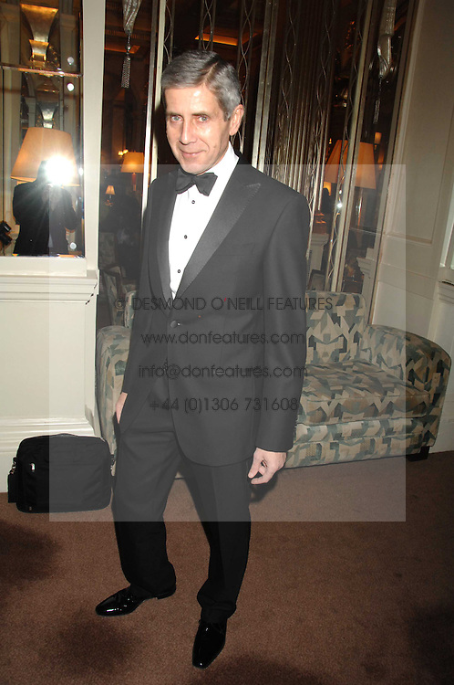 SIR STUART ROSE at a party to celebrate the publication of Top Tips For Girls by Kate Reardon held at Claridge's, Brook Street, London on 28th January 2008.<br />