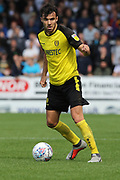 Burton Albion midfielder Scott Fraser on the ball during the Pre-Season Friendly match between Burton Albion and Derby County at the Pirelli Stadium, Burton upon Trent, England on 20 July 2019.