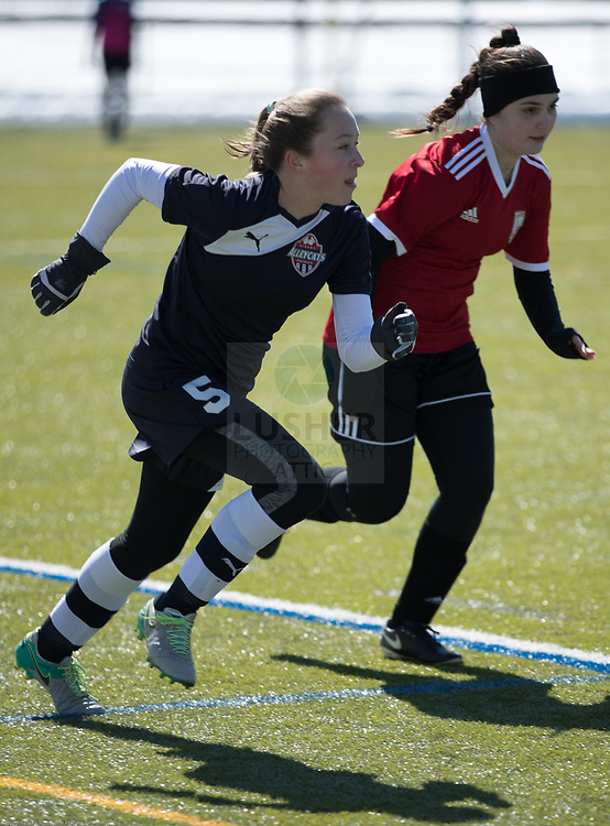 NEFC Spring Showcase & Tournament at Wheaton College Nordin Field.  Alyssa Hoogs.