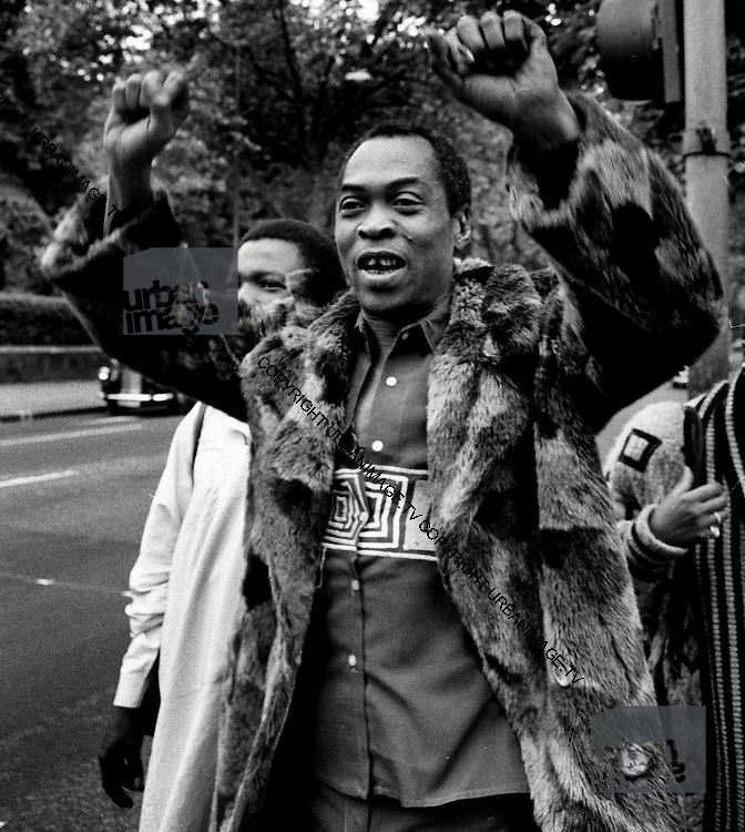 Fela Kuti in London