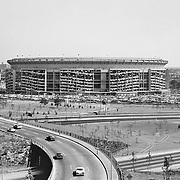 Shea Stadium, former home of the New York Mets.