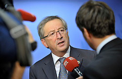 Jean-Claude Juncker, Luxembourg's prime minister, speaks during a news conference following the European Union Summit at the EU headquarters in Brussels, Belgium, on Friday, Oct. 30, 2009. (Photo © Jock Fistick)