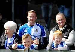 Fans - Mandatory by-line: Neil Brookman/JMP - 16/04/2016 - FOOTBALL - Memorial Stadium - Bristol, England - Bristol Rovers v Yeovil Town - Sky Bet League Two