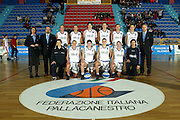 qualificazioni europei germania 2003<br /> Nela foto: team