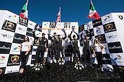April 28-May 1, 2016: Lamborghini Super Trofeo, Laguna Seca: #10 Trent Hindman, Craig Duerson, Prestige Performance, Lamborghini Paramus (PRO-AM), #14 James Sofronas, GMG, Lamborghini Newport Beach, (PRO-AM), #66 James Davison, Derek Deboer, TRG, Lamborghini Los Gatos, (PRO-AM)
