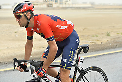 March 1, 2019 - Dubai, Emirati Arabi Uniti, Emirati Arabi Uniti - Foto LaPresse - Fabio Ferrari.01 Marzo 2019 Dubai (Emirati Arabi Uniti).Sport Ciclismo.UAE Tour 2019 - Tappa 6 - da Ajman a Jebel Jais -.180 km.Nella foto: NIBALI Vincenzo (ITA)BAHRAIN - MERIDA.Photo LaPresse - Fabio Ferrari.March 01, 2019 Dubai (United Arab Emirates) .Sport Cycling.UAE Tour 2019 - Stage 6 - From Ajman To Jebel Jais  -.112 miles..In the pic: NIBALI Vincenzo (ITA)BAHRAIN - MERIDA (Credit Image: © Fabio Ferrari/Lapresse via ZUMA Press)