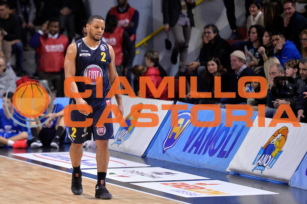 Chris Wright<br /> Vanoli Cremona - Fiat Auxilium Torino<br /> Lega Basket Serie A 2016/2017<br /> Cremona, 12/02/2017<br /> Foto Ciamillo-Castoria