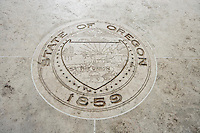 Seal of Oregon in Fort Bonifacio; Manila; Philippines