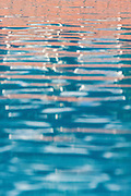 The rippled surface of a pool at the Saigon Phu Quoc Resort and Spa, on the island of Phu Quoc in southern Vietnam.
