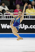 Mariah Bell performs during the ladies free skate competition at the U.S. Figure Skating Championships Saturday, Jan. 21, 2017, in Kansas City, Mo. (AP Photo/Colin E. Braley)
