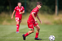 WREXHAM, WALES - Thursday, August 15, 2019: Malta's Andrew Bologna during the UEFA Under-15's Development Tournament match between Cyprus and Malta at Colliers Park. (Pic by Paul Greenwood/Propaganda)