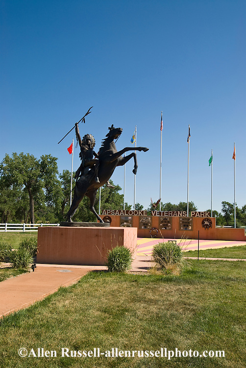 Veterans Memorial Park, Crow Agency, Crow Indian Reservation, Montana