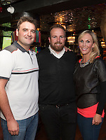 09/09/2015 Repro free: <br /> McGettigan's Galway Q&A session with Shane Lowry<br /> <br /> <br />  McGettigan's Galway were delighted to welcome WGC Bridgestone Champion and brand ambassador, Shane Lowry for his first visit to McGettigan's Galway for an exclusive Q&A session for invited guests.<br /> Shane discussed his rise from amateur status, all the challenges he's faced and overcome along the way and his most recent win at the WGC Bridgestone Championship. <br /> At the event were Shane hung out with Joe Quinn and TG4's Aine Lally.<br /> <br /> www.mcgettigans.com<br /> <br /> Follow McGettigan's Galway  on Twitter -@McGettigansGWY <br /> Photo:Andrew Downes, xposure.