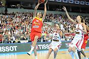 DESCRIZIONE : Riga Latvia Lettonia Eurobasket Women 2009 Qualifying Round Lettonia Spagna Latvia Spain<br /> GIOCATORE : Alba Torrens<br /> SQUADRA : Spagna Spain<br /> EVENTO : Eurobasket Women 2009 Campionati Europei Donne 2009 <br /> GARA : Lettonia Spagna Latvia Spain<br /> DATA : 15/06/2009 <br /> CATEGORIA : super tiro<br /> SPORT : Pallacanestro <br /> AUTORE : Agenzia Ciamillo-Castoria/M.Marchi<br /> Galleria : Eurobasket Women 2009 <br /> Fotonotizia : Riga Latvia Lettonia Eurobasket Women 2009 Qualifying Round Lettonia Spagna Latvia Spain<br /> Predefinita :