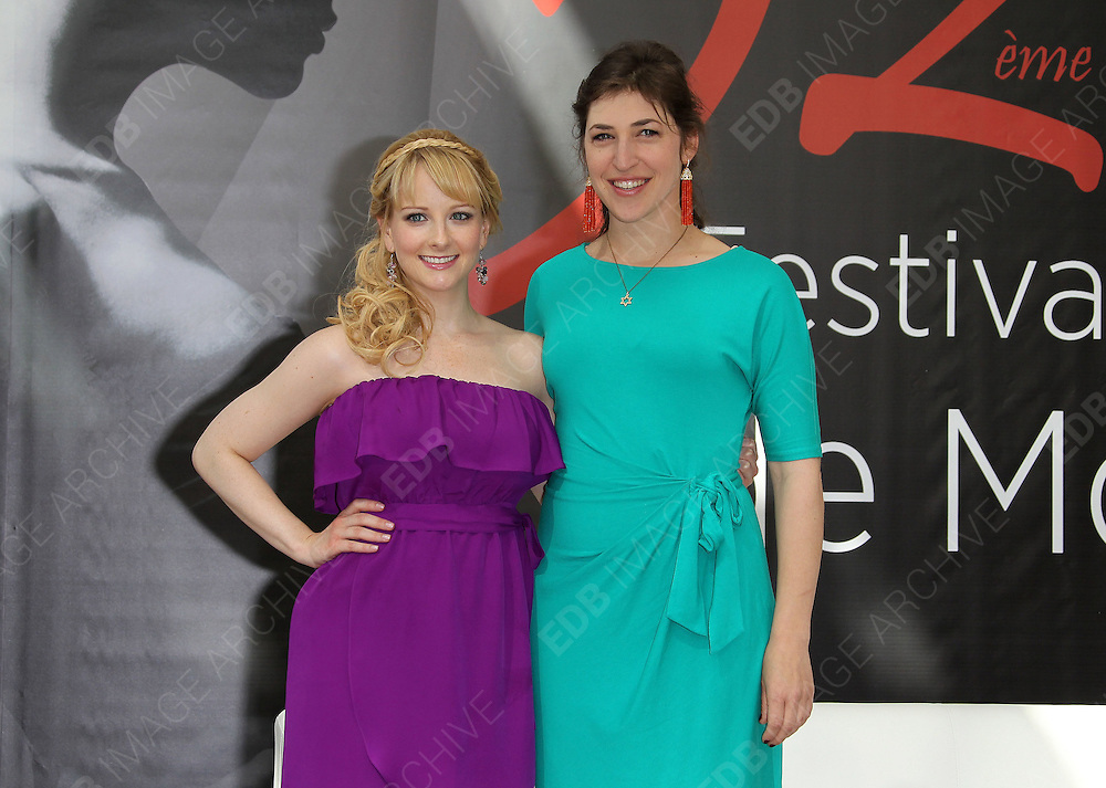 12.JUNE.2012.MONACO<br /> <br /> MELISSA RAUCH AND MAYIM BIALIK ATTEND THE BIG BANG THEORY PHOTOCALL AT THE 52nd MONTE-CARLO TELEVISION FESTIVAL.<br /> <br /> BYLINE: EDBIMAGEARCHIVE.CO.UK<br /> <br /> *THIS IMAGE IS STRICTLY FOR UK NEWSPAPERS AND MAGAZINES ONLY*<br /> *FOR WORLD WIDE SALES AND WEB USE PLEASE CONTACT EDBIMAGEARCHIVE - 0208 954 5968*
