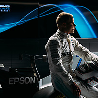 Epson, Mercedes F1 &amp; Valtteri Bottas Photoshoot<br /> Silverstone,Bedford. UK<br /> 30th May 2017<br /> Images copyright Malcolm Griffiths<br /> 07768 230706<br /> www.malcolm.gb.net