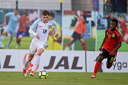 AUBAGNE, FRANCE - Monday, May 29, 2017: England's David Brooks during the Toulon Tournament Group A match between England U18 and Angola U20 at the Stade de Lattre-de-Tassigny. (Pic by David Rawcliffe/Propaganda)