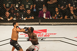 October 29, 2017 - Sao Paulo, Sao Paulo, Brazil - Oct, 2017 - Sao Paulo, Sao Paulo, Brazil - Fight between LYOTO MACHIDA (The Dragon) and DEREK BRUNSON during UFC Fight Night, at the Gymnasium of Ibirapuera, in São Paulo, on Saturday (28). LYOTO was knocked out in the first round. (Credit Image: © Marcelo Chello/CJPress via ZUMA Wire)
