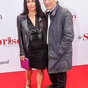 NLD/Amsterdam20150518 - Premiere De Surprise, Marion Bloem en partner Iwan Wolffers