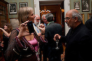 PHILLIPA WALKER; ALAN YENTOB, David Campbell and Knopf host the 20th Anniversary of the revival of Everyman's Library. Spencer House. St. James's Place. London. 7 July 2011. <br /> <br />  , -DO NOT ARCHIVE-© Copyright Photograph by Dafydd Jones. 248 Clapham Rd. London SW9 0PZ. Tel 0207 820 0771. www.dafjones.com.