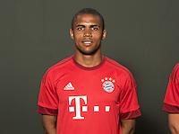German Soccer Bundesliga 2015/16 - Photocall of FC Bayern Munich on 16 July 2015 in Munich, Germany: Douglas Costa