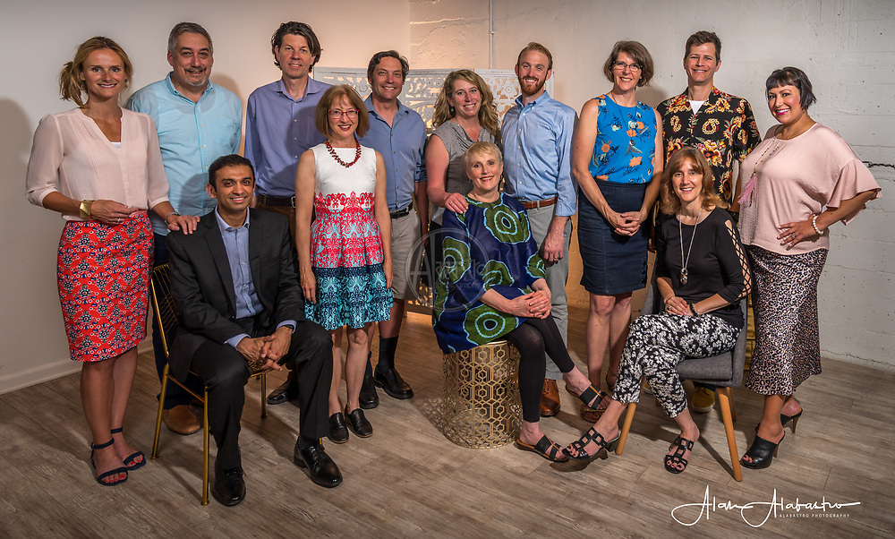 2018 Tall Order Speaker Series Core Team. Photo by Alabastro Photography.