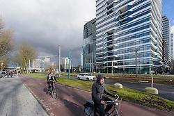 Amsterdam Zuid, Zuidas, Noord Holland, Netherlands