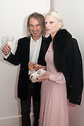 IVOR BRAKA; KRISTEN MECMENAMY, Valentino: Master of Couture - private view. Somerset House, London. 28 November 2012