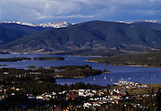 Town Of Frisco, Marina and Lake Dillon, Summit County, Colorado
