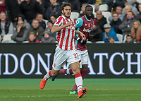 Football - 2016 / 2017 Premier League - West Ham United vs. Stoke City<br /> <br /> Egyptian winger Ramadan Sobhi of Stoke City at The London Stadium.<br /> <br /> COLORSPORT/DANIEL BEARHAM