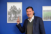 Lawrie Sanchez at AFC Wimbledon during the EFL Sky Bet League 1 match between AFC Wimbledon and Southend United at the Cherry Red Records Stadium, Kingston, England on 1 January 2018. Photo by Matthew Redman.