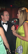 **EXCLUSIVE**.Prince Albert of Monaco with Petra Nemcova.Prince Albert Charity Event.Greenhouse.Cannes, France.Thrusday, May 15, 2008.Photo By Celebrityvibe.com.To license this image please call (212) 410 5354; or Email: celebrityvibe@gmail.com ;.website: www.celebrityvibe.com