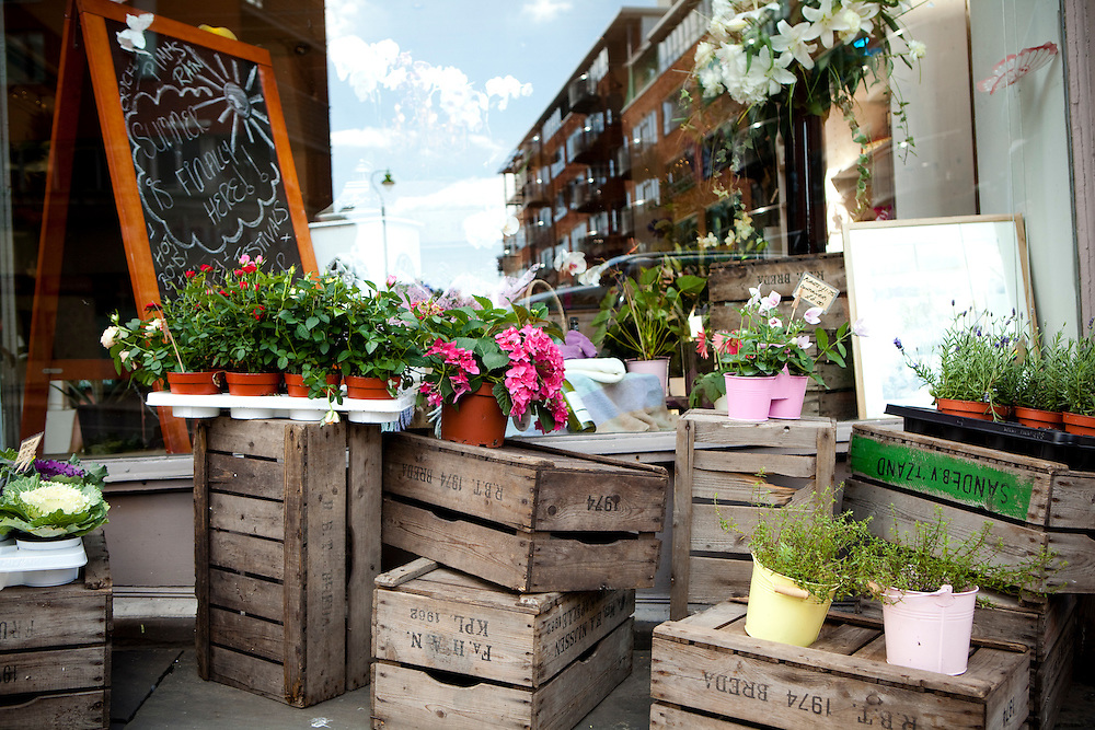 'Brown Paper', Flower shop, Nottingham