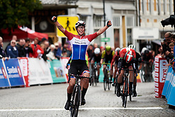 Lorena Wiebes (NED) wins Ladies Tour of Norway 2019 - Stage 1, a 128 km road race from Åsgårdstrand to Horten, Norway on August 22, 2019. Photo by Sean Robinson/velofocus.com