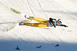 Nejc Dezman of Slovenia during Flying Hill Individual at 2nd day of FIS Ski Jumping World Cup Finals Planica 2012, on March 16, 2012, Planica, Slovenia. (Photo by Matic Klansek Velej / Sportida.com)