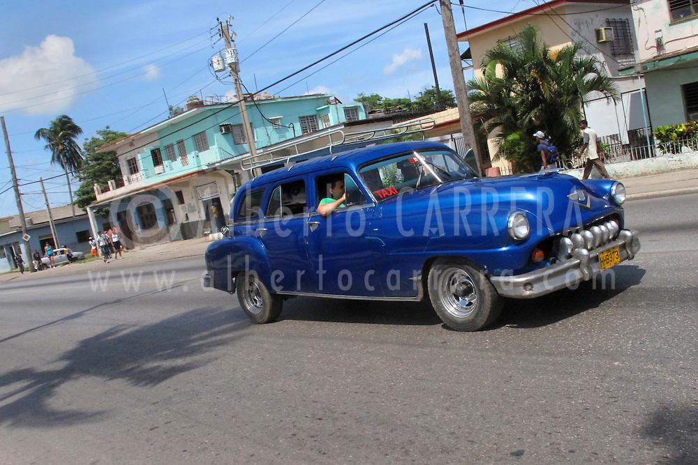 Alberto Carrera, Old car, Habana Vieja, Havana, Cuba, America